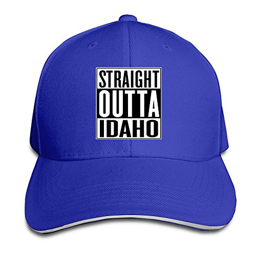 Baseball Straight Outta Idaho Sandwich Hat For Mens (Bar Idaho Falls Shop The)