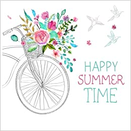 Happy Summer Time Vacation Journal Scrapbook Memories Scrap Happy 9781514247464 Amazon Com Books