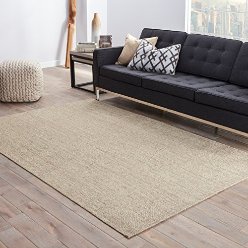Jaipur Living Daytona Natural Fiber Solid Neutral Area Rug (5' X 8')