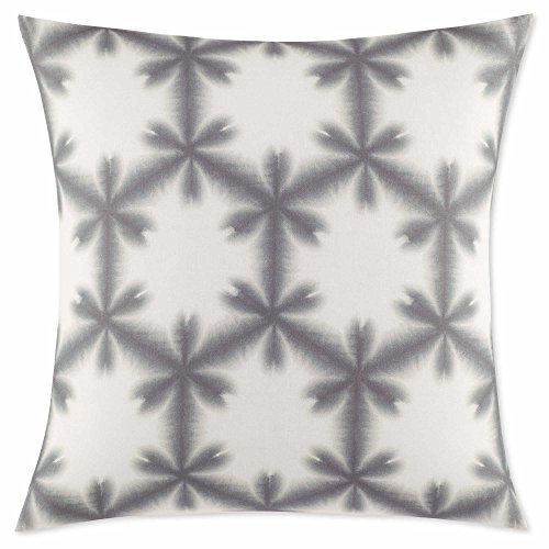 ED Ellen DeGeneres Petra European Pillow Sham, Grey And (Petra Sham)