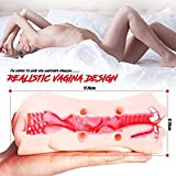 3D Oral Sexa Toy for Men Deep Throat with Tongue