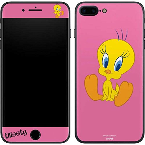 (Skinit Tweety Pinky iPhone 8 Plus Skin - Officially Licensed Warner Bros Phone Decal - Ultra Thin, Lightweight Vinyl Decal Protection)