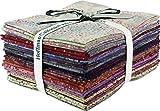 Bali Batiks Bali Dots Paprika 20 Fat Quarter Bundle Hoffman Fabrics 885FQ-389