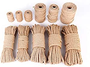 Greenpromise Cuerda de yute de arpillera natural para ...
