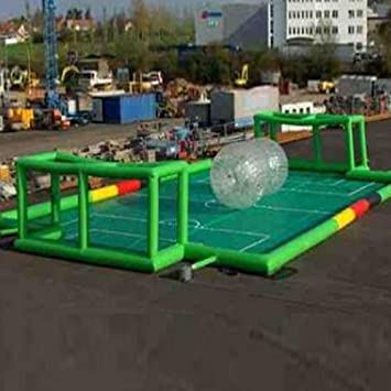 SSELF hinchable, balón de fútbol campo de fútbol hinchable para ...