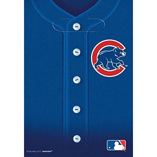 Wholesale Amscan Licensed Mlb Chicago Cubs Loot Bags Favour Childrens Party Favor Sets (8 pieces) free shipping
