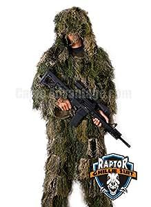 Raptor Ghillie Suit (Woodland, M/L)
