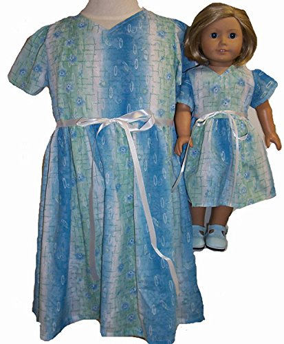 女の子と人形用のブルードレスのマッチングシェード サイズ5 B00ZPWYPLI サイズ5 B00ZPWYPLI, インテリアの明和グラビア:587d67d5 --- arvoreazul.com.br