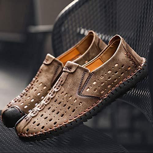 Hombre Zapatos Feidaeu Zapatos Caqui Feidaeu zqtWWwg4