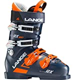 Lange RX 120 Ski Boots Mens Dark Blue/Orange Sz 9.5 (27.5)