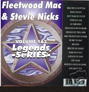 Stevie Nicks Fleetwood Mac 15 Song Karaoke CD+G Legends #163