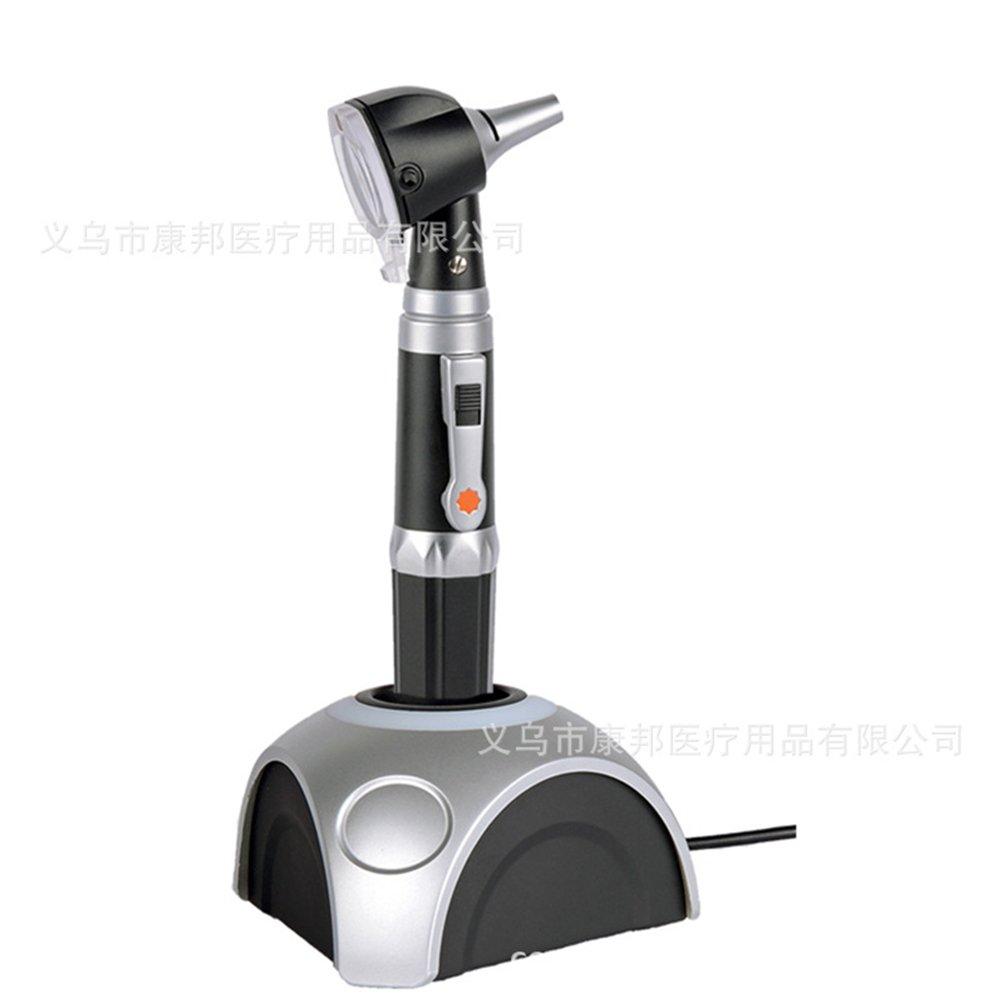 Studyset Otoscopes Optical Fiber Otoscope Otology Ear Examination Device Medical Diagnostic Inspectoscope Chargeable