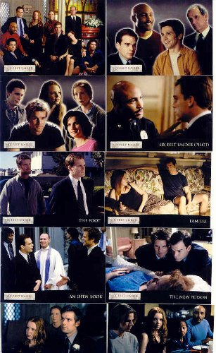 Six Feet Under Seasons One And Two Trading Card Set
