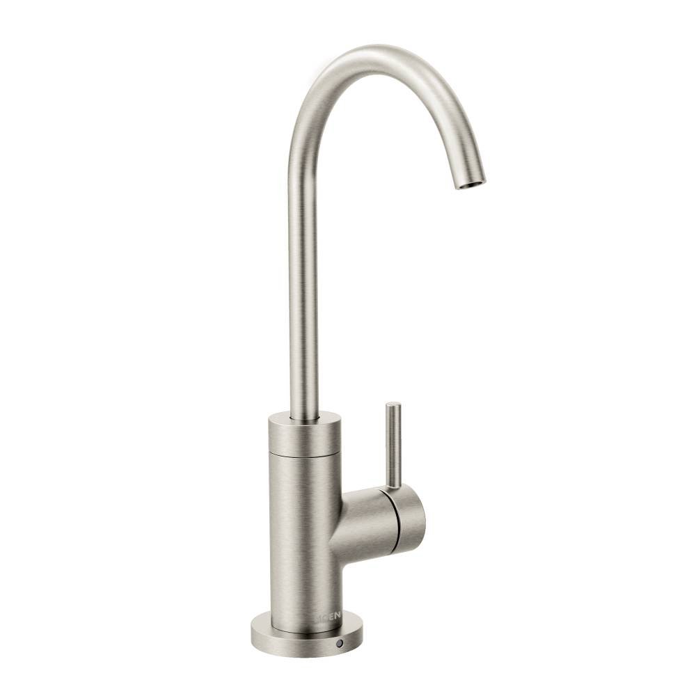 Moen S5530SRS Sip Modern One-Handle High-Arc Beverage Faucet, Spot Resist Stainless