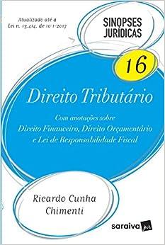 Book Direito Tributário - Volume 16. Coleção Sinopses Jurídicas