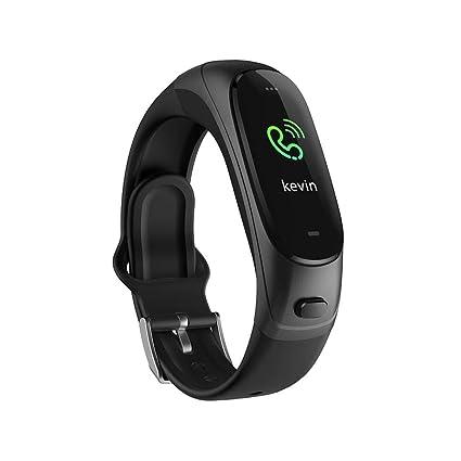 Pulsera inteligente Rastreador de ejercicios Actividad Sueño y recordatorio SMS Moda Multideportivo Reloj conectado a presión