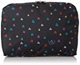 LeSportsac Extra Large Rectangular and Square Cosmetic Bag, Love Drops, One Size