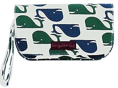 Bungalow360 Vegan Whales Lana Wristlet