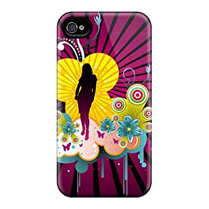 IsE3660wOTO Claires Beautiful Girl Vector Feeling Iphone 5/5s On Your Style Birthday Gift Cover Case