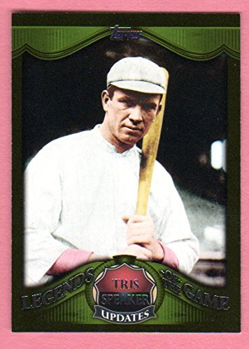 Tris Speaker 2009 Topps (Legends of the Game *Updates*) (Indians) (Red - Tri San Club Diego