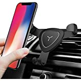 More&Better Cell Phone Holder for Car Universal Air Vent Cradle Smart No Touch Design for iPhone X 8 7 Plus 6s 5s 5c Samsung Galaxy S8 Edge S7 S6 Note 5 and All Smartphones 3.5-6