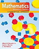 Student's Solution Manual Mathematics for Elementary Teachers, Bennett, Albert and Nelson, Ted, 0077237536
