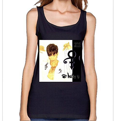 Prince I Hate You Album 80s Women's Plus Size Racerback Tank Black