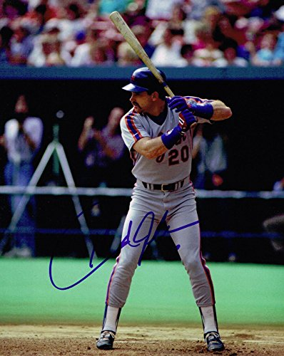Autographed Howard Johnson Photo - 8x10 COA - Autographed MLB (Howard Johnson Photo)
