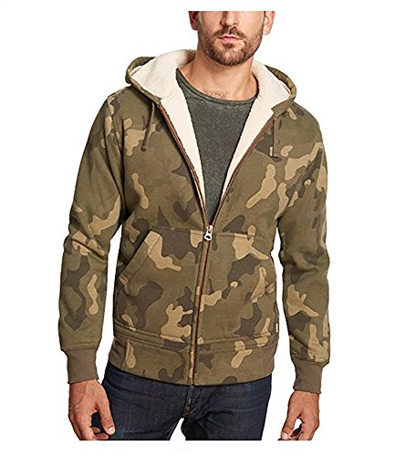 Vintage Fleece Hooded Zip Sweatshirt - 3