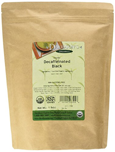 - Davidson's Tea, Decaf Black, 16-Ounce Bag