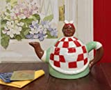 Aunt Jemima, Mammy Ceramic Hand-Painted Teapot ,By ACK 6.6.10.2