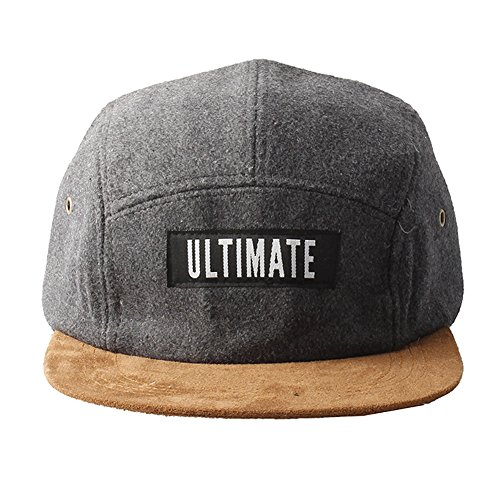 Grey Panel Accessoryo pico Unisex Ultimate Hat Five Brown Feeling con un E7SFqXnSp
