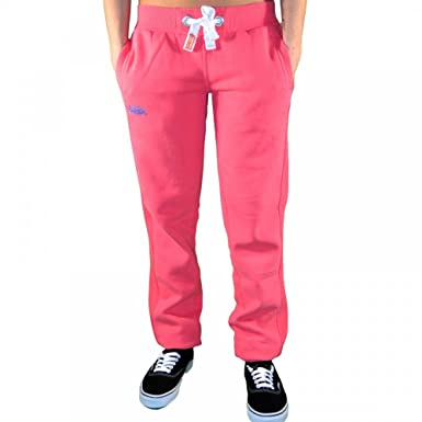 e8409f4dd04f3 Superdry - Bas De Jogging - Femme - Orange Label Slim - Rose - XL ...