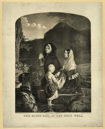 The blind girl at the holy well by Historic Photos