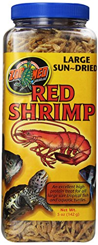 Zoo Med Sun Dried Large Red Shrimp, (Zoo Med Reptile Food)