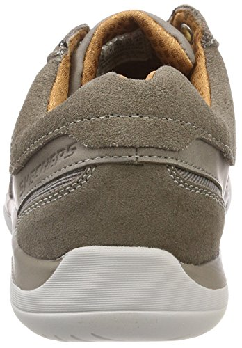 Edmen Grey Sneaker Grigio Uomo Skechers Gry p7Fqw