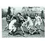 Photo of an Early Rugby Action c1936