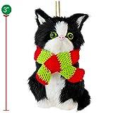 Ornativity Christmas Mini Cat Ornament - Furry