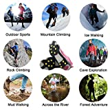 AGOOL Ice Cleats Snow Traction Cleats Crampons for
