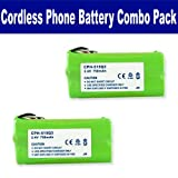 Plantronics CT-14 Cordless Phone Battery Combo-Pack includes: 2 x EM-CPH-515Q3 Batteries, Office Central