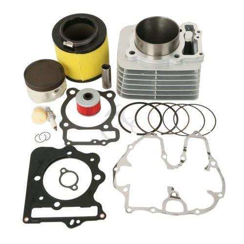 Master Cylinder Top Gasket (TCMT For Honda TRX400EX TRX 400EX Piston Cylinder Gasket Rings Top End Kit 1999-2008)