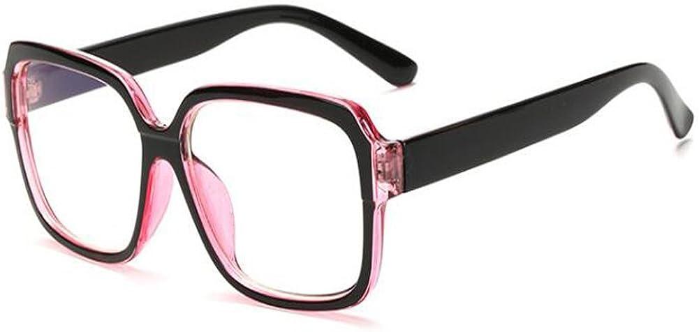 Yefree Gafas bloqueadoras de Blu-ray Gafas de protección radiológica Lente transparente retro/retro Hombres y mujeres