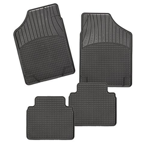 CarFashion Allweather schaalmat B2, auto vloermatten set in zwart, 4-delig, zonder mattenhouder voor CT 200h, bouwjaar…
