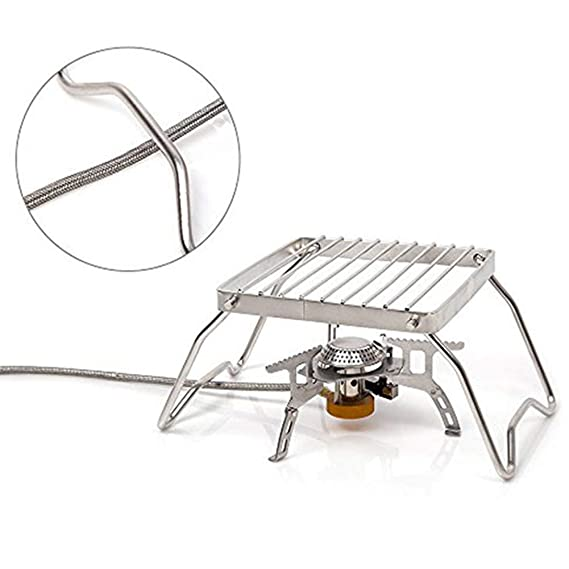 Amazon Com Turbokey Backpacking Gas Burner Stove Portable Open