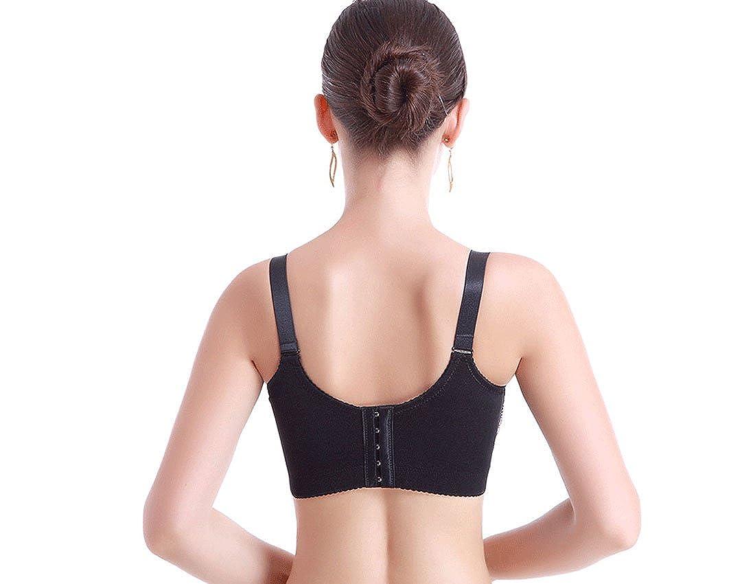 MFrannie Womens Wired Thin Cup Nursing Bra Breastfeeding Bra Size 32B to 40DDD