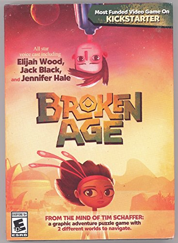 Broken Age PC/MAC DVD-Rom Game USA Version (Broken Age Pc Game)