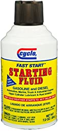 Cyclo C99 Fast Start Starting Fluid - Case of 12