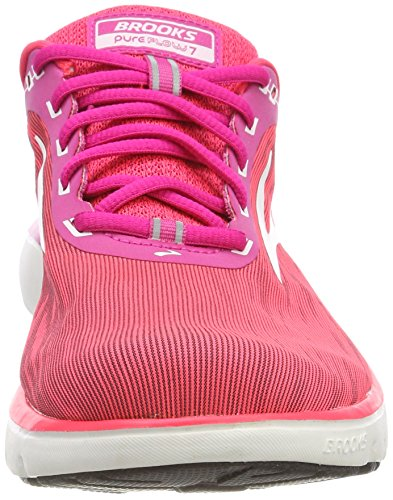 Brooks Women's Shoes PureFlow 684 Pink 7 Running White Multicolour Pink TTrqp4nwx