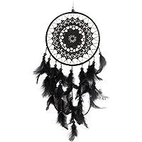 VORCOOL Hecho a Mano Plum Blossom Black Dreamcatcher