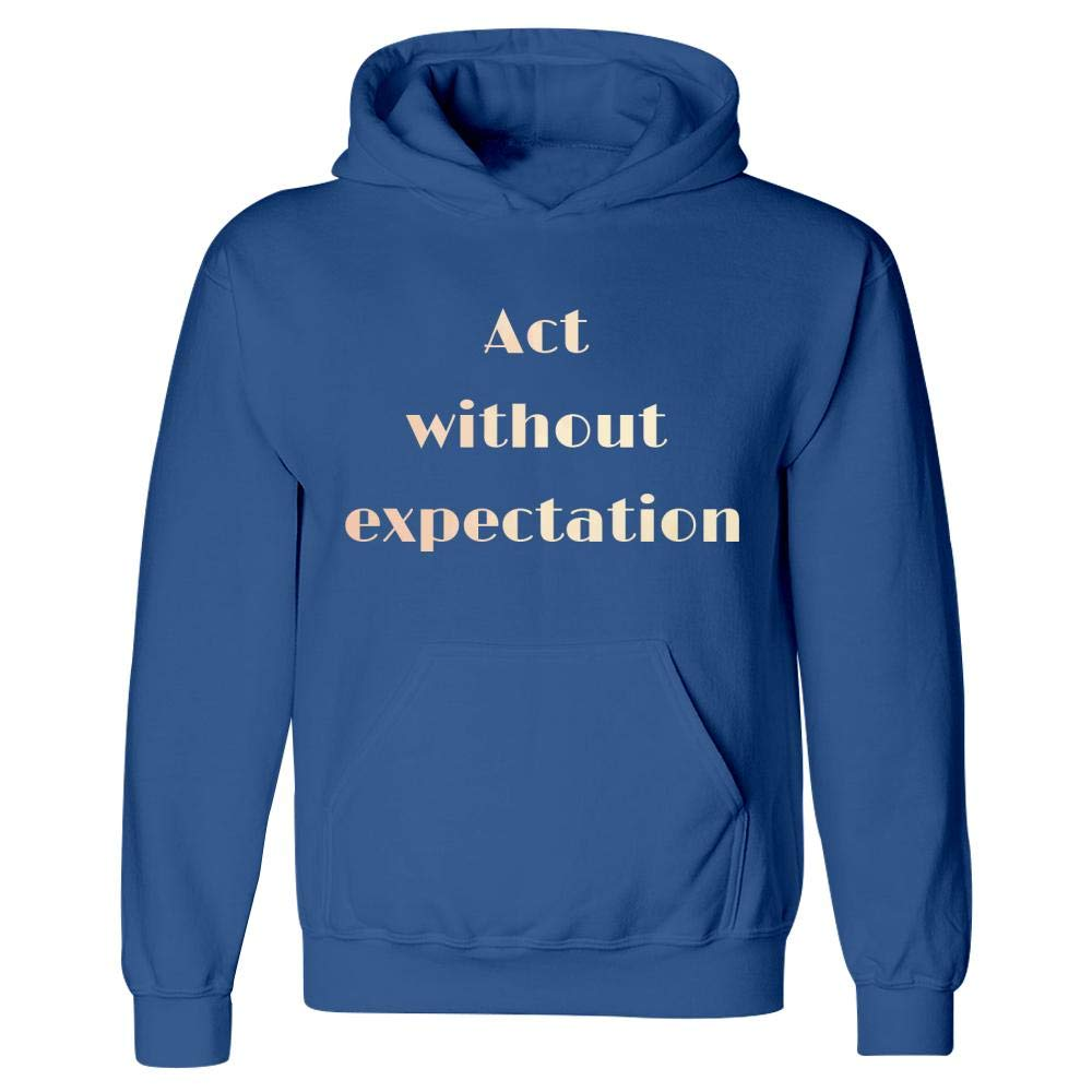 Hoodie MESS Without Expectation Mindfulness Spiritual Motivation